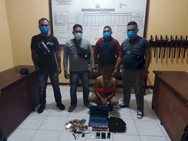 Unit Jatanras Polres Manggarai, Ciduk Pelaku Pencurian