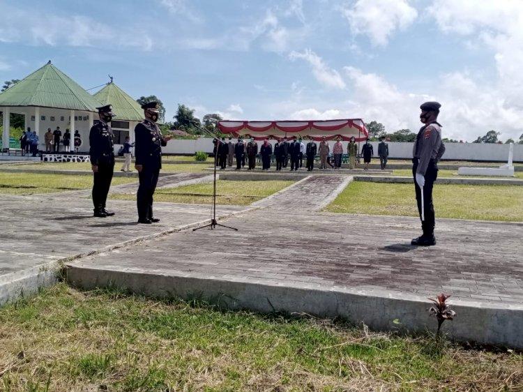 Polres Manggarai Laksanakan Upacara 10 November Peringati Hari Pahlawan ke-75 di TMP.
