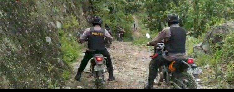 Kapolres Manggarai Laksanakan Patroli Rutin Jelang Pilkada Kabupaten Manggarai 2020.
