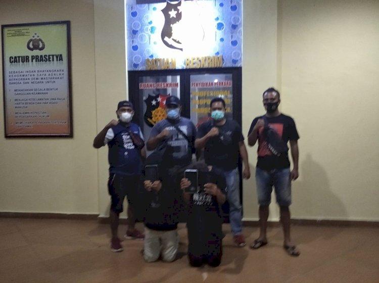 Unit Jatanras Berhasil Mengamankan Pelaku DPO Pencurian Ipad