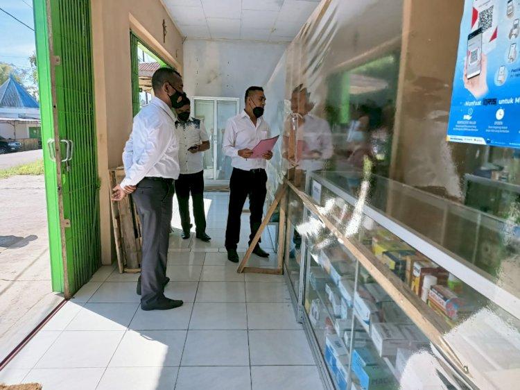 Satuan Resnarkoba Polres Manggarai Melaksanakan Pengecekan  Ketersediaan Obat Dan Harga Penjualan