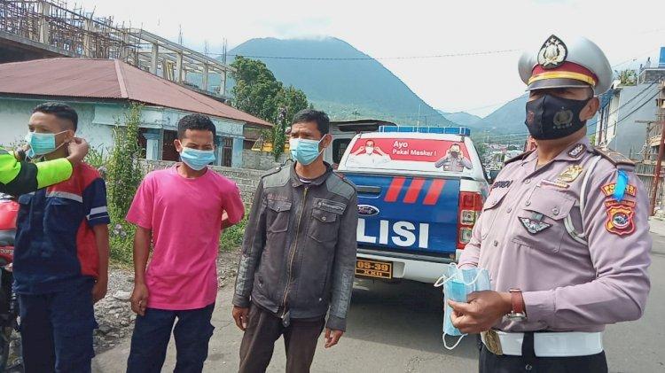 OPS Patuh Dan Mobil Masker Polres Manggarai