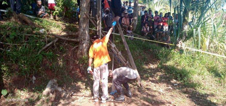 Pria 23 Tahun Ditemukan Tak Bernyawa  Di Pohon Mangga