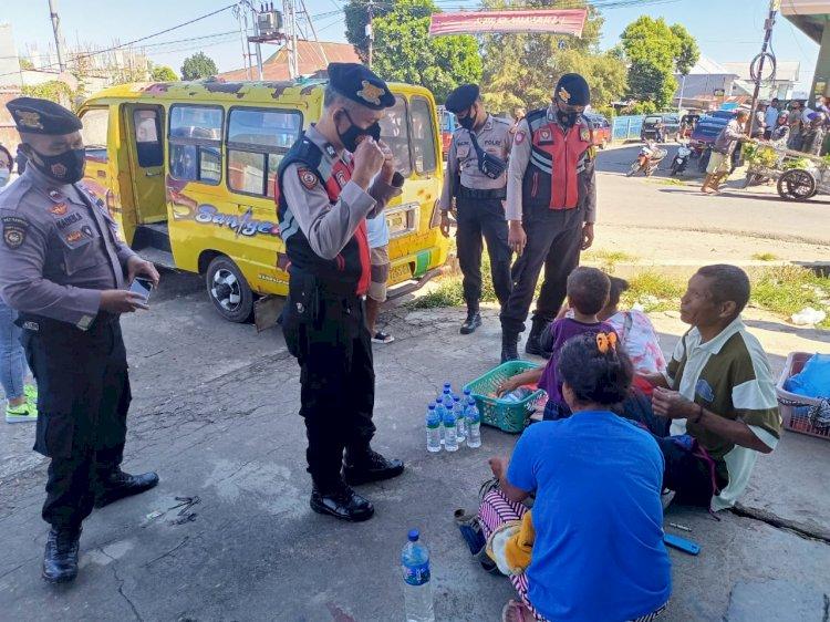 Patroli Unit Sabhara Polres Manggarai