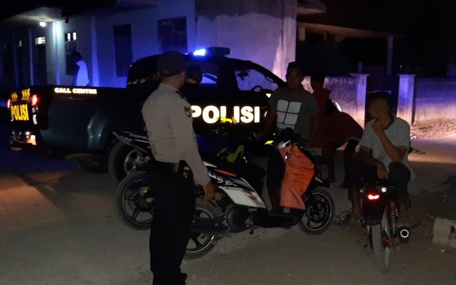 Antisipasi Tindak Kejahatan | Polsek Sambi Rampas Tingkatkan Patroli Malam