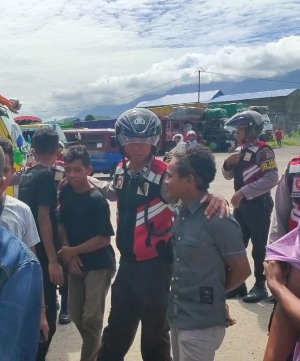 Cegah Kejahatan | Unit Turjawali Polres Manggarai Laksanakan Patroli