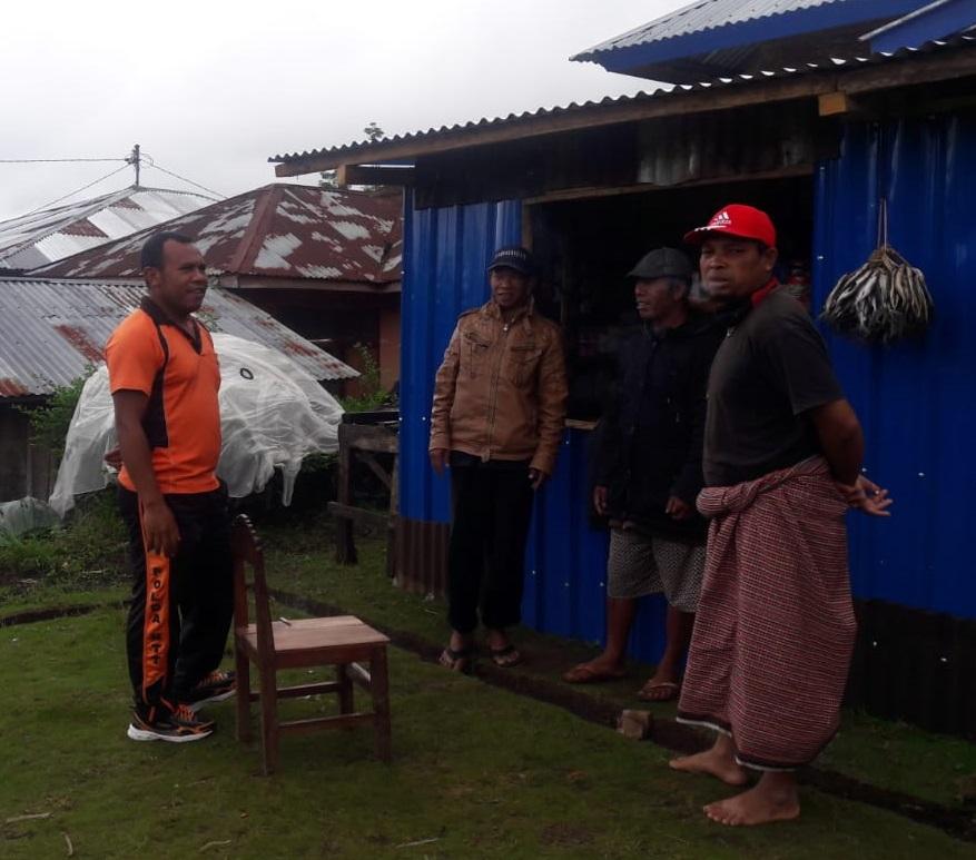 Bhabinkamtibmas Desa Pong La'o Sambangi Warga Binaan